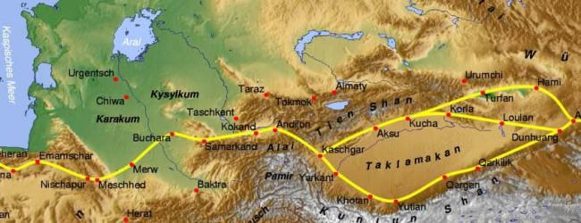 Neue Seidenstraße nimmt Gestalt an: Erster Güterzug von China nach Österreich unterwegs