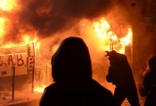 Immobilienfahrzeug in Flammen: Gewaltbereite Antifa droht Berlin