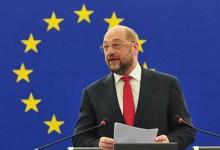 """Stürmische Zeiten voraus: Martin Schulz ruft zur Zusammenarbeit der """"proeuropäischen Kräfte"""" auf"""