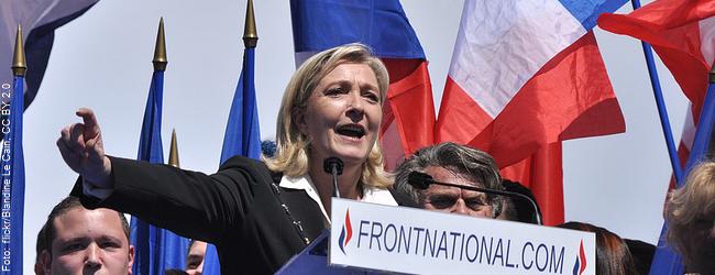 Frankreich: Front National-Chefin Le Pen könnte 2017 in Stichwahl einziehen