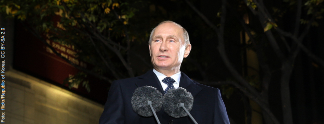 """Putin rechnet mit dem Liberalismus ab: """"Im Widerspruch zu den Interessen der Mehrheit"""""""
