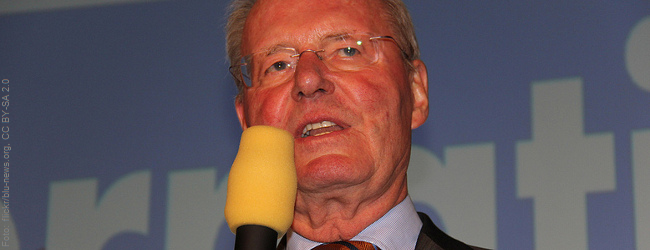 """""""Unvernünftig"""": Partei-Vize Hans-Olaf Henkel will TTIP-Gegner aus der AfD drängen"""