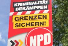 Thüringen: Linke verhindern symbolischen Einzug der NPD in den Landtag