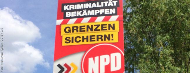 Umfrage: Zwei Drittel der Deutschen sind für ein Verbot der NPD