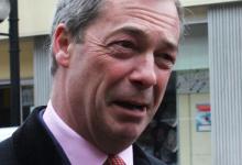 UKIP-Chef Nigel Farage: Hoffen auf den Durchbruch der EU-Gegner im Mai 2015