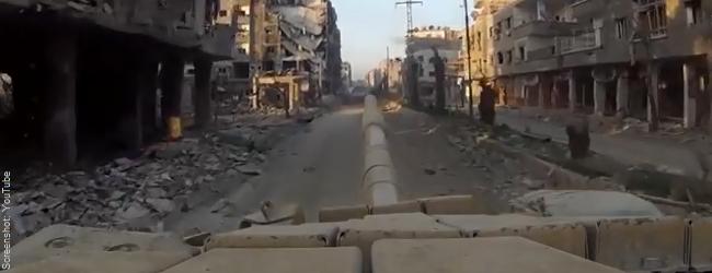 """Französische Parlamentariergruppe in Aleppo: Keineswegs """"völlig zerstört"""""""