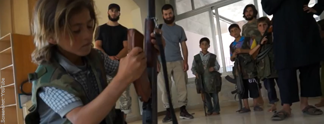 "Syrien-Konflikt: Islamisten-Truppe ""Junud ash-Sham"" rekrutiert Kindersoldaten"