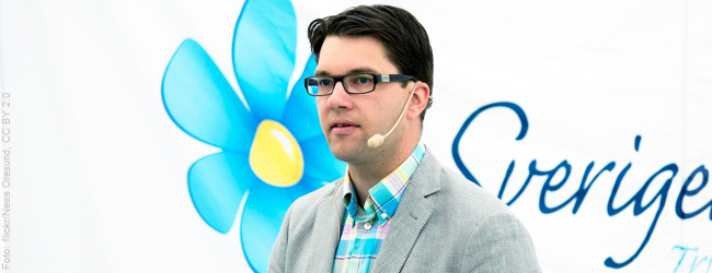 Schwedendemokraten: Rechtspopulisten holen bei Parlamentswahl 13 Prozent