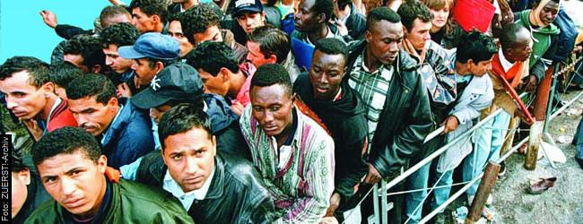"""""""Migranten als Rammbock"""""""