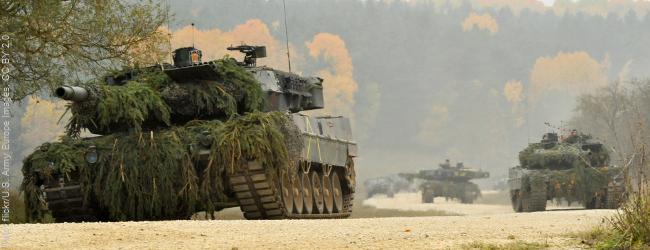 Ausrüstungskrise bei der Bundeswehr: Neue Panzer nur zu einem Drittel einsatzbereit