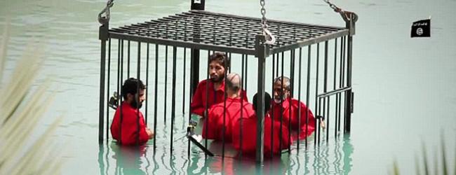 Neues Video: Islamischer Staat ertränkt irakische Gefangene in Unterwasser-Käfig
