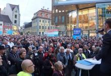 """""""Demo gegen Politikversagen"""" in Erfurt – über 6.000 demonstrieren gegen Asylmißbrauch"""