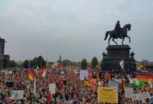 PEGIDA im Aufwind – über 20.000 bei Dresdner Montagsdemonstration