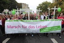 """Lebensschützer mobilisieren Tausende für Berliner """"Marsch für das Leben"""""""