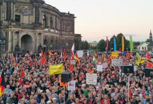 PEGIDA Dresden 5. Oktober 2015 – wieder über 20.000 Demonstranten