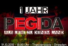 PEGIDA: Teilnehmerrekord bei Jubiläumsdemonstration – trotz linker Gewalt