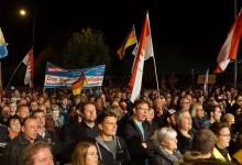 Wieder über 8.000 bei AfD-Demonstration gegen Asylpolitik in Erfurt