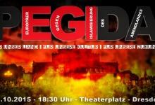Steigende Teilnehmerzahlen bei PEGIDA – 25.000 bei Montagsspaziergang in Dresden