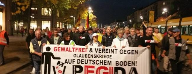 Durchlauferhitzer des deutschen Rechtspopulismus: PEGIDA feiert fünfjähriges Jubiläum