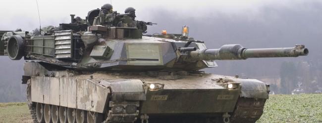 USA transportieren Panzer durch Deutschland nach Osteuropa