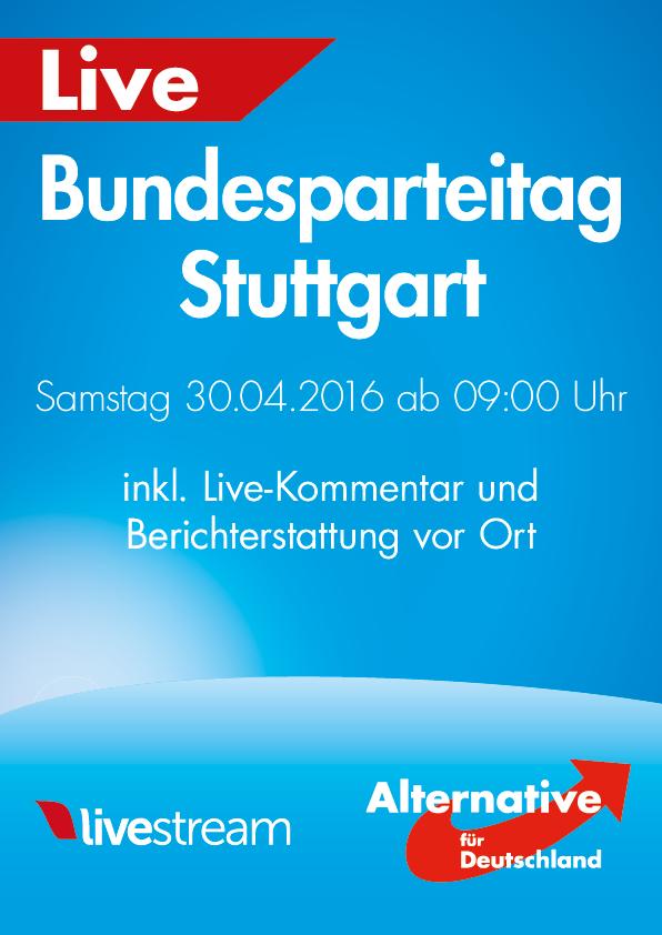 Live stream und ticker vom afd bundesparteitag aus for Spiegel livestream