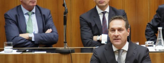 """Kurz und Strache verteidigen """"sehr, sehr strenge Asylpolitik"""": """"Wir wollen Wahlversprechen einhalten"""""""