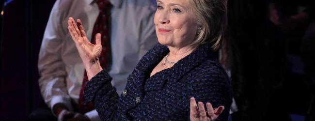 Wegen drohender Protestwähler: Hillary Clinton mahnt Eindämmung der Migration nach Europa an