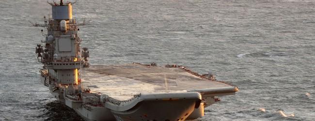 """Zwei Jahre im Trockendock: Russischer Flugzeugträger """"Admiral Kuznezow"""" wird generalüberholt"""
