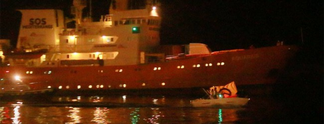 """Aktiv gegen Schlepper und Illegale: Identitäre blockierten NGO-""""Hilfsschiff"""""""