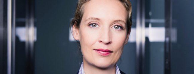 """AfD-Fraktionsvorsitzende Alice Weidel im ZUERST!-Interview über die Zukunft einer Partei-Stiftung: """"Ideenschmiede der AfD"""""""
