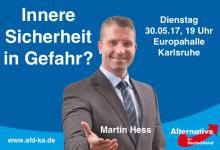 """""""Ideologische Borniertheit"""" – AfD-Bundestagsabgeordneter Martin Hess im ZUERST!-Gespräch über die Innere Sicherheit"""