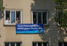AfD-Fraktion Sachsen sorgt mit gelungenem Anti-Merkel-Protest für Aufsehen