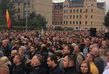 Chemnitz steht auf: Über 1.000 Chemnitzer protestieren bei Besuch von Sachsens Ministerpräsident