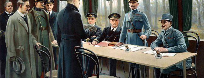 Vor 100 Jahren: Waffenstillstand als Auftakt zum Versailler Diktatfrieden