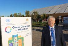 Zeremonie mit Schönheitsfehlern: Udo Voigt protestiert in Marrakesch gegen den UN-Migrationspakt