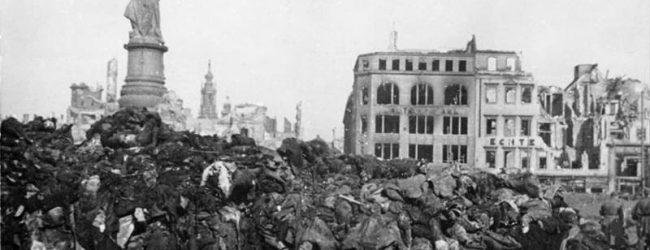 Die Apokalypse von Dresden – Vor 74 Jahren wurde die Elbmetropole von den Alliierten ausgelöscht