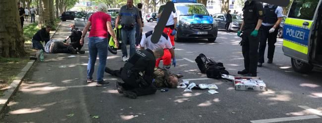 Stuttgart: Antifa-Terror-Kommando greift Demonstranten an – Opfer ins Koma geprügelt