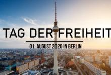 """""""Tag der Freiheit"""" in Berlin: Historische Großdemonstration gegen Corona-Politik der Regierung"""